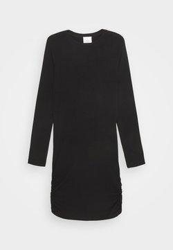 The New - BASIC DRESS SUSTAINABLE - Jerseykleid - black