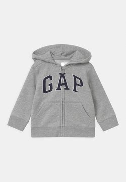 GAP - TODDLER BOY LOGO - Sweatjacke - light heather grey