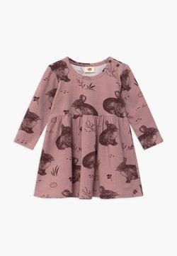 Walkiddy - CUTE RABBITS BABY - Jerseykleid - pink