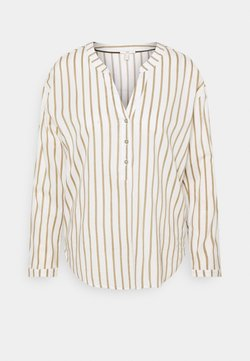 edc by Esprit - STRIPE - Camiseta de manga larga - light khaki