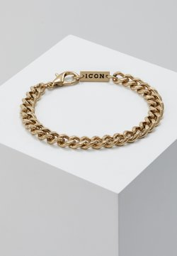 Icon Brand - CHUNKY CHAIN BRACELET - Armband - antique gold-coloured