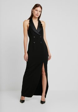 Adrianna Papell - CREPE TUXEDO DRESS - Vestido de fiesta - black
