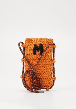 M Missoni - PORTACELLULARE CROCHET - Umhängetasche - orange