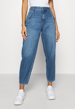 ONLY - ONLTROY  LIFE CARROT - Jeans relaxed fit - medium blue denim