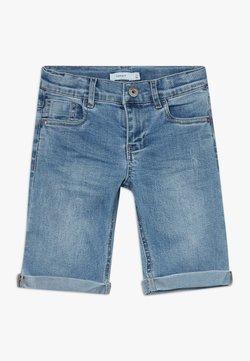 Name it - NKMSOFUS LONG - Shorts di jeans - light blue denim