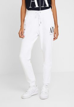 Armani Exchange - PANTALONI - Jogginghose - white