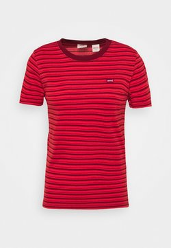 Levi's® - BABY TEE - T-Shirt print - silphium poppy red