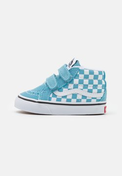 Vans - SK8 REISSUE UNISEX - Korkeavartiset tennarit - delphinium blue/true white