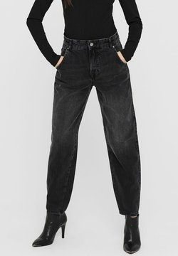 ONLY - Relaxed fit jeans - dark grey denim