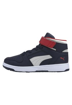 Puma - Chaussures de skate - peacoat gray violet h r red