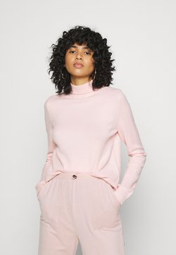 Noisy May - NMPENNY HIGH NECK - Pullover - english rose
