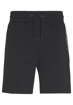 Calvin Klein Jeans - INSTITUTIONAL HWK SHORT PRIDE - Jogginghose - black