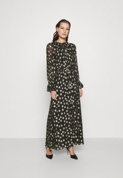 Fabienne Chapot - MAXIME DRESS - Maxikleid - black/gold