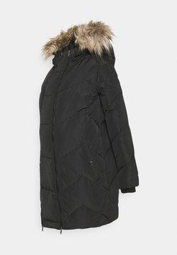 MAMALICIOUS - MLSICILIA  - Abrigo de plumas - black