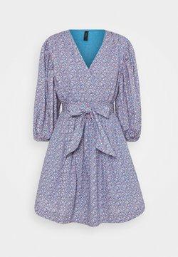 YAS - YASTASSA DRESS - Kjole - parisian blue/tassa