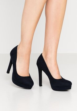 Even&Odd Wide Fit - High Heel Pumps - dark blue