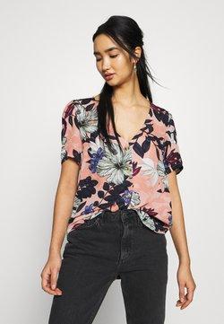 Vero Moda - VMATHEN VNECK - Button-down blouse - misty rose gina