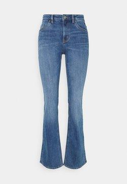 Esprit - Flared Jeans - blue medium wash