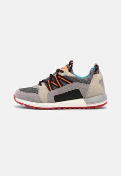 Geox - ALBEN BOY - Sneaker low - grey/beige