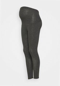 Dorothy Perkins Maternity - OVERBUMP LEGGINGS - Leggings - grey marl