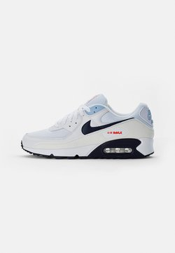 Nike Sportswear - AIR MAX - Sneakers basse - white/midnight navy-chile red-psychic blue