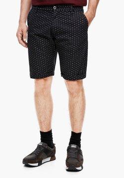 Q/S designed by - MIT PRINT - Shorts - dark grey