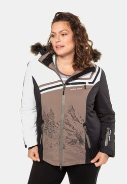 Ulla Popken - Winterjacke - brown, white, black