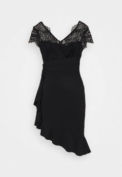 SISTA GLAM PETITE - LYNDIA - Cocktailkleid/festliches Kleid - black