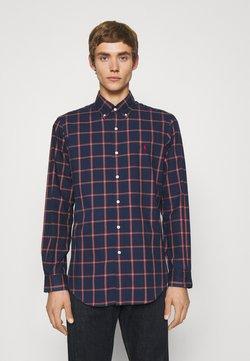 Polo Ralph Lauren - LONG SLEEVE SPORT SHIRT - Koszula - navy/red