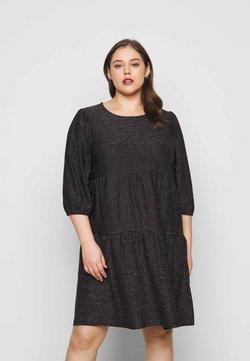 Vero Moda Curve - VMSKY 3/4 SHORT DRESS - Freizeitkleid - black