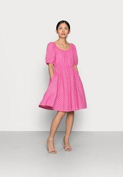 YAS Petite - YASVOLANT DRESS  - Vestido de cóctel - azalea pink
