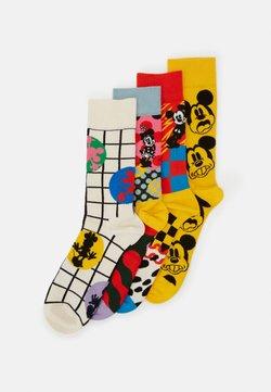 Happy Socks - DISNEY GIFT SET 4 PACK - Chaussettes - medium yellow