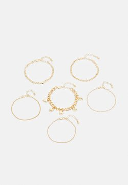 Pieces - PCSIDSE BRACELET 6 PACK - Armband - gold-coloured