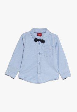 s.Oliver - LANGARM - Camisa - pacific blue