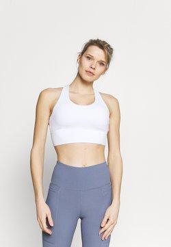 Cotton On Body - ULTIMATE LONGLINE CROP - Sport-BH med lätt stöd - white