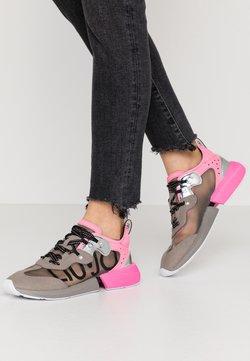 Liu Jo Jeans - YULIA  - Sneakers laag - grey/fuxia