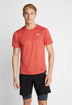 New Balance - IMPACT RUN - T-Shirt print - red heather
