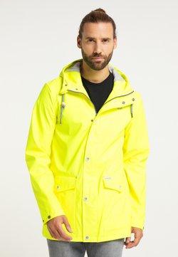 Schmuddelwedda - Regenjacke / wasserabweisende Jacke - neon gelb