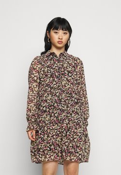 ONLY Petite - ONLINGRID SHORT DRESS - Blusenkleid - black