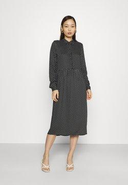 Vero Moda - VMFIE DRESS  - Vestido camisero - black/birch dot