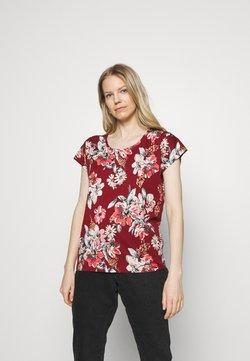 Soyaconcept - SC-FELICITY AOP 297 - T-Shirt print - red