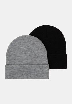 Monki - RUBY HAT 2 PACK - Bonnet - black/grey