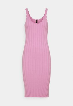 YAS - YASNEEL DRESS  - Vestido de punto - pastel lavender