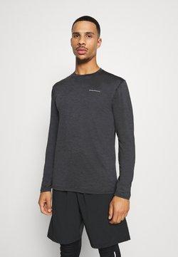 Endurance - MELL MELANGE - Camiseta de deporte - black