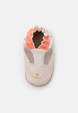 Robeez - MINI RABBIT - Krabbelschuh - beige clair