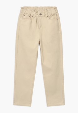 Grunt - DICTE PAPERBAG - Jeans Relaxed Fit - off white