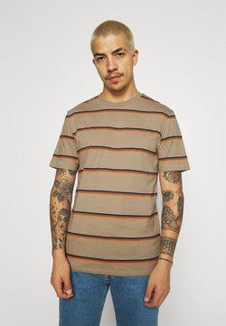 Only & Sons - ONSMARIO LIFE TEE  - T-shirt z nadrukiem - chinchilla
