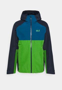 Jack Wolfskin - MOUNT ISA  - Regenjacke / wasserabweisende Jacke - basil green