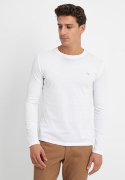 Marc O'Polo - LONG SLEEVE ROUND NECK - Langarmshirt - white