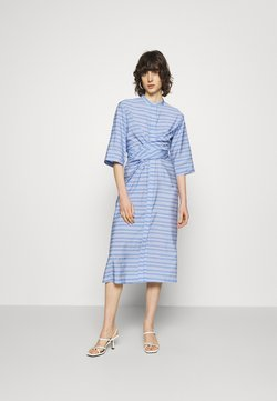 Samsøe Samsøe - SYLVIA SHIRT DRESS - Blusenkleid - bold blue